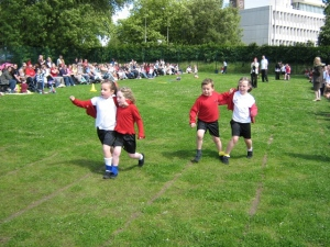 Year 1 in the 3 legged race