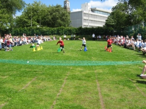 Year 2 in the obstacle race
