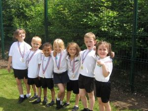 The winning team in Year 1