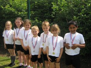 The winning team in Year 2
