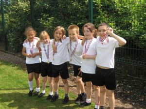 The winning team in Year 3