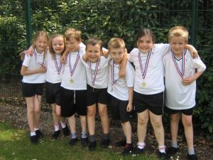 The winning team in Year 4