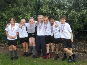 The winning team in Year 5